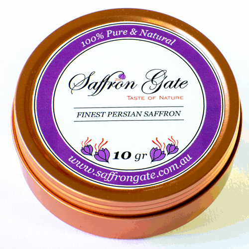 10 Grams Finest Quality Saffron, Negin, All Red