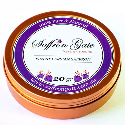 20 Grams Finest Quality Saffron, Negin, All Red