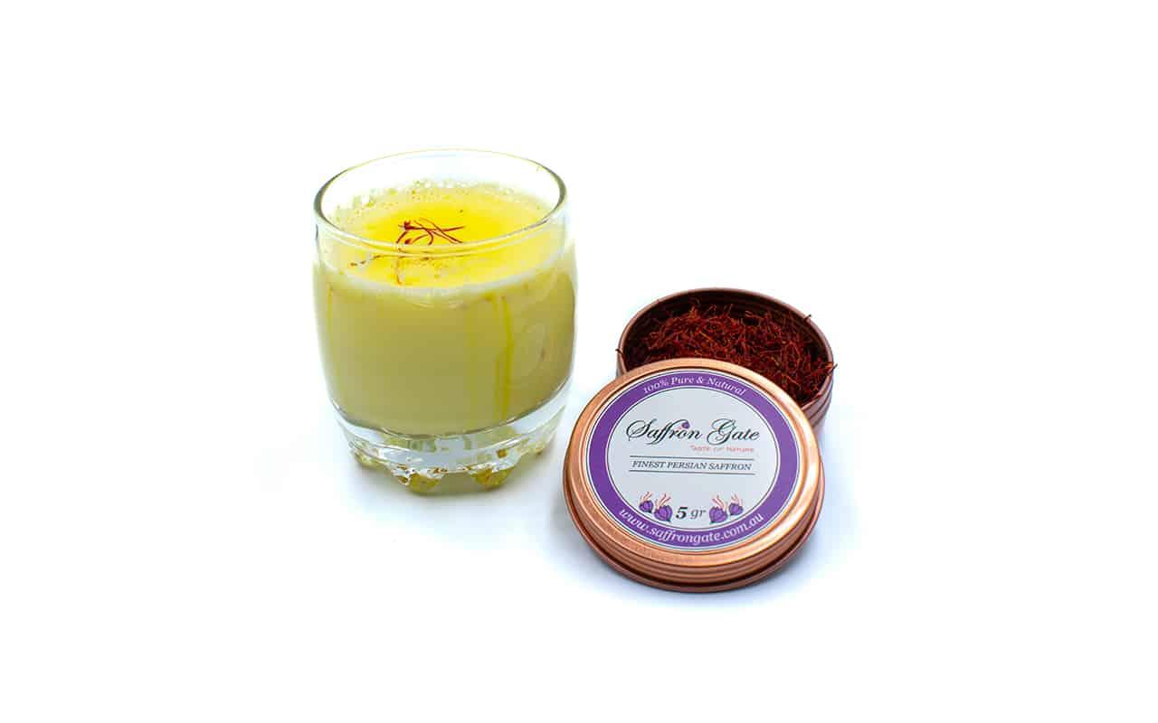 Saffron Milk , kesar milk